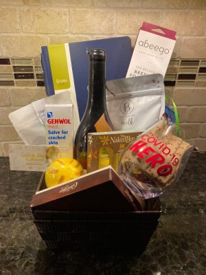 Gift basket for Local hero contest