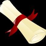 Lynn Vardy Grad 2020 contest scroll icon