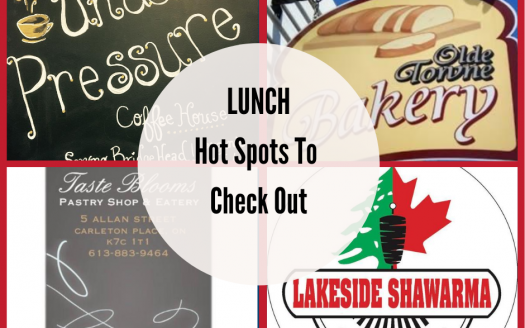 Lunch Spots in Carleton Place