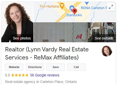 Lynn Vardy real estate google reviews